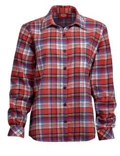 Ls Flnl Plaid Shirt-Dickies