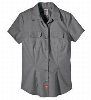 Ss Twill Work Shirt