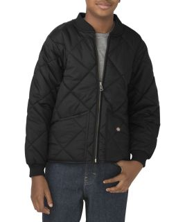 Boys Quilted Nylon Jacket