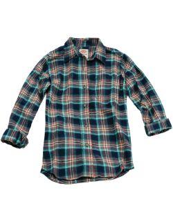 Girls Long Sleeve Flannel Shirt
