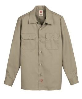 Boys' Twill Long Sleeve Shirt