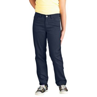 Girls 5 Pocket Stretch Twill Pant
