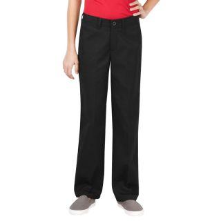 Girls Flat Front Pant