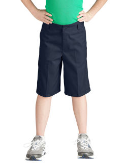 KR3123 Boys Flexwaist Flat Front Short