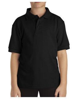 Boys And Adult Short Sleeve Pique Polo