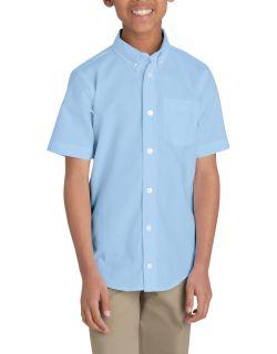 Blue Oxford Ss Shirt