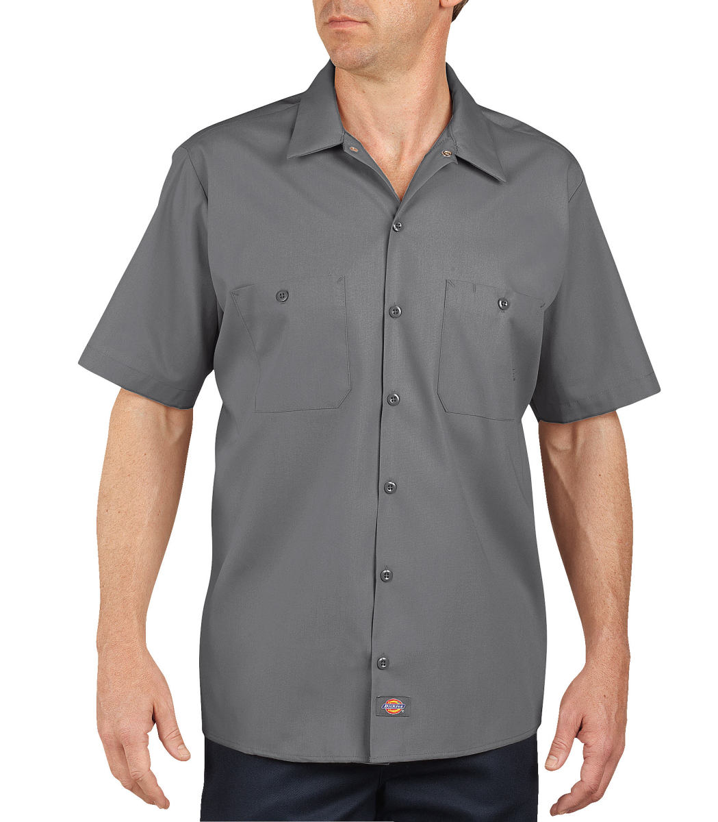 Industrial Short Sleeve Work Shirt-Dickies Industrial