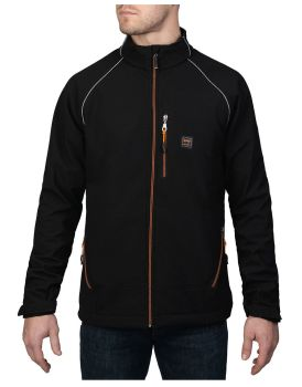 Softshl Flclin Jacket