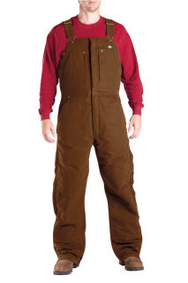 Tb246 Sanded Duck Insulated Bib All