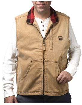 Weathered Duck Vest-Vintage