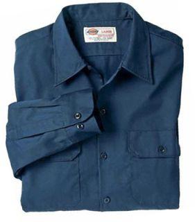 Hanging Long Sleeve Work Shirt