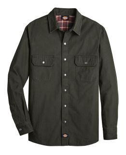 Flannel Lined Duck Shirt