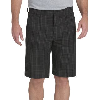 "11"" Slim Fit Plaid Work Short"