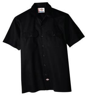 Hanging Short Sleeve Work Shirt