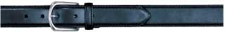 "1-3/8"" Plain Career Black Belt-"