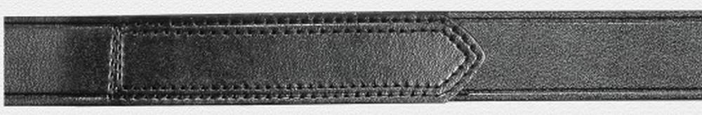 "1-1/2"" Hook & Loop Tip Plain Leather Belt"