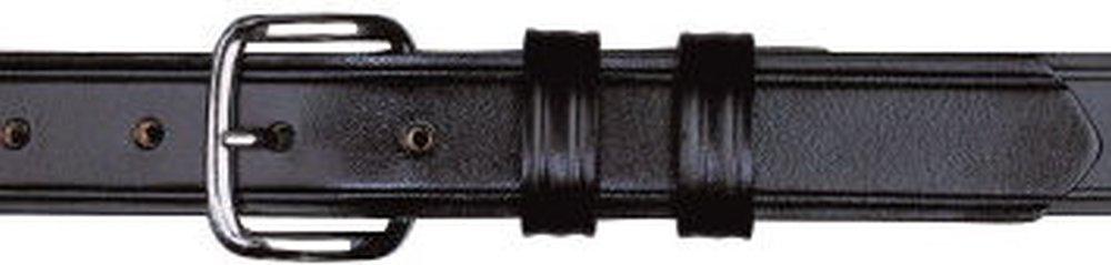 "1-1/4"" Garrison Plain Black Belt-Dutyman"