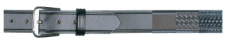 "1-1/2"" Garrison Plain Black Belt-Dutyman"