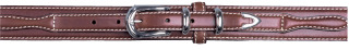 "1-3/8"" Brown Ranger Belt-"