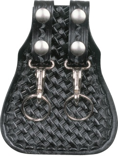 Double Scabbard Key Ring - Basket Weave-Dutyman