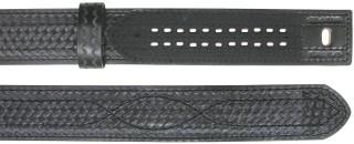 """2-1/4"""" Sam Brown Basket Weave Hook & Loop Buckleless Belt-"""