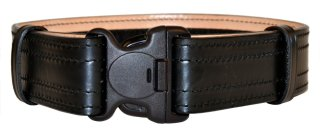 Plain Leather Duty Belt / 3 Point Buckle-