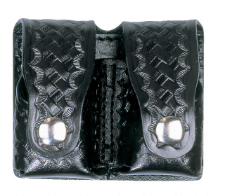 Double Speed Loader Revolver Holder - Basket Weave-Dutyman