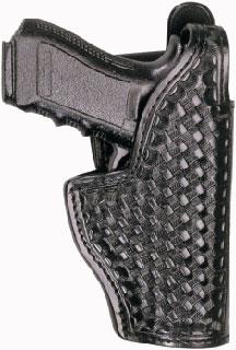 Mid Ride (Jacket Slot) Holster - Basket Weave - G20/21