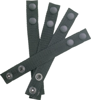 "Ballistic Nylon 1"" Keepers Set of 4 for 2-1/4"" Belts-Dutyman"