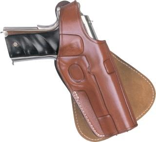 Paddle Holster for Colt .45 - Plain Black-Dutyman