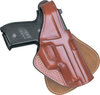 Paddle Holster for Automatics - Plain Brown