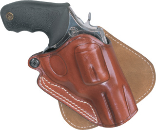 Paddle Holster for Revolvers - Plain Brown