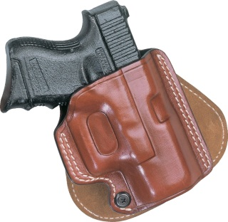 Paddle Holster for Glock Automatics and Similar - Plain Black