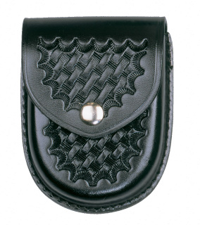 Rounded Bottom Closed Single Cuff Case - Basket Weave-