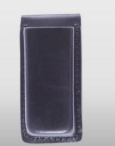 8711P Leather Single Open Top Magazine Holder-