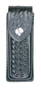 Leather Single Magazine Holder for 9mm - Basket Weave-Dutyman