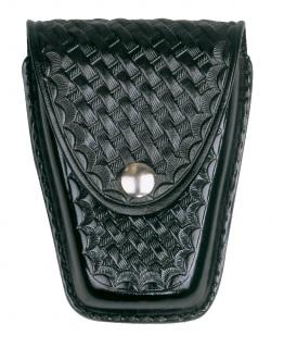 Leather Closed Standard Single Cuff Case - Plain-