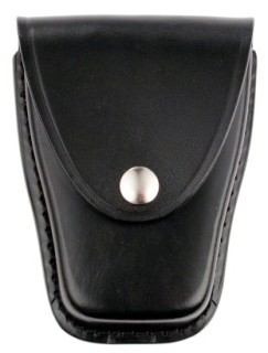 Leather Closed Standard Single Cuff Case - Plain