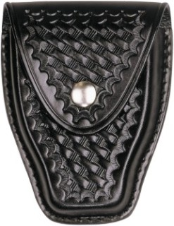 Tapered Closed Single Cuff Case - Basket Weave-Dutyman