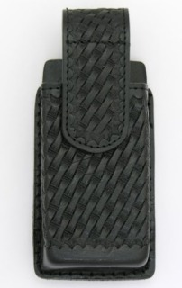 Universal Leather Cell Phone Holder (Larger Phones) - Basket Weave