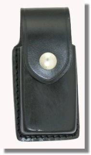 Leather Universal Cell Phone Holder (Small Phones) - Plain
