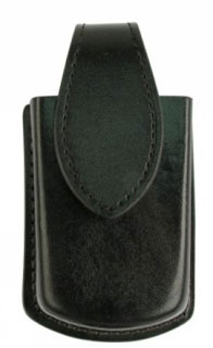 Leather Universal Cell Phone Holder (Standard Flip Phones) - Basket Weave