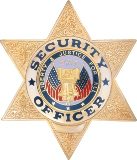 Security Officer / 6 Point Star-Dutyman