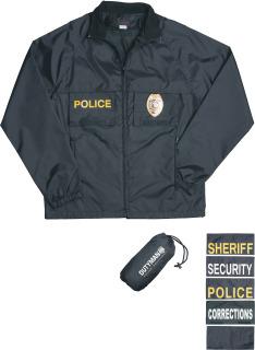 Black Raid Jacket