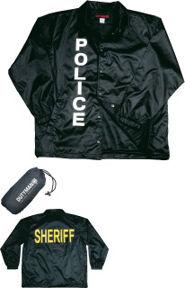 Crime Scene Jacket / Black