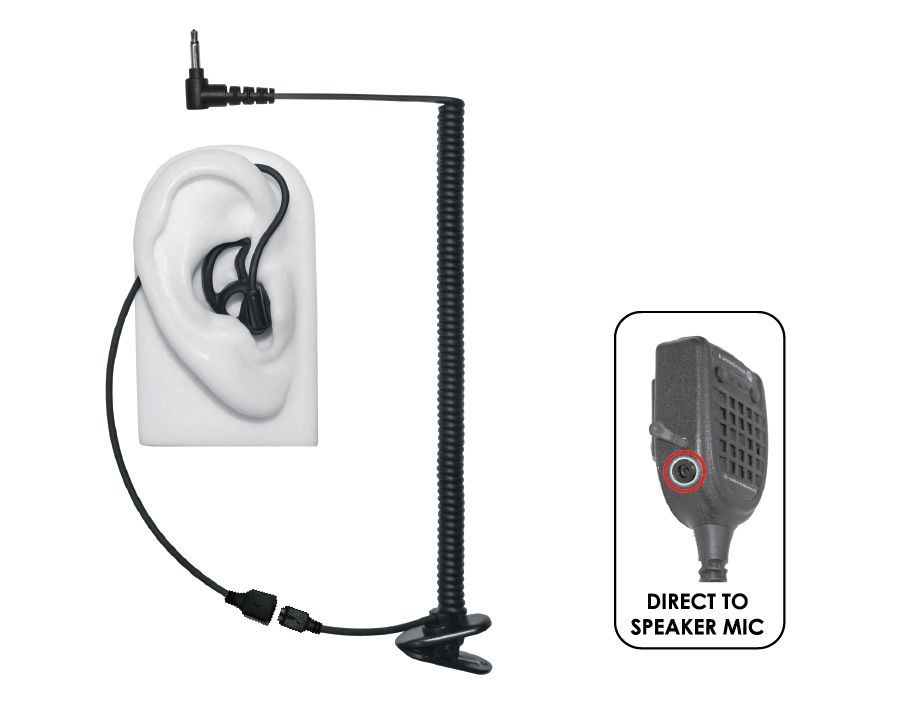 EP-MS1A-B_Micro Sound Tubeless Listen Only-Ear Phone Connection