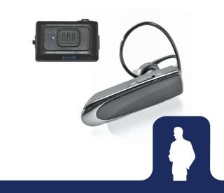 EP-UC223_UC Kit Bluetooth Headset & Remote PTT-Ear Phone Connection