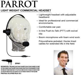 Parrot Lightweight Commercial Headset