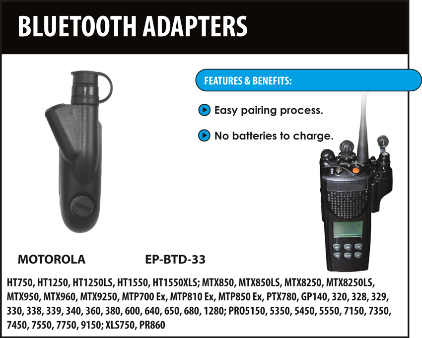 Bluetooth Quick Release Adapter