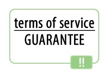 terms of service guarantee